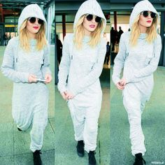 at Heathrow Airport today. (1/28/14) this is the most fashionable onesie I have ever seen in my entire life. My first thought was swaggiest, and although accurate, is a shameful word.