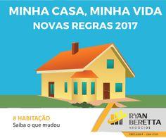 Bom dia!  Você sabia que o Programa Minha Casa, Minha Vida foi ampliado e agora tem regras mais flexíveis para incluir mais famílias?  Confira em nosso site: http://bit.ly/2oHTDCw    #MinhaCasaMinhaVida #Habitação #RBNegócios #Colatina #Imobiliária