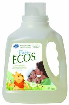 Earth Friendly Products Baby Ecos Free and Clear Disney Laundry Detergent,  100 Ounce (Pack of 2) by Earth Friendly Products, http://www.amazon.com/dp/B00B4V6N0A/ref=cm_sw_r_pi_dp_oQWssb1VVGVJD