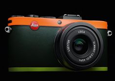 "Leica X2 camera ""Edition Paul Smith"" - looks great in burnt orange."