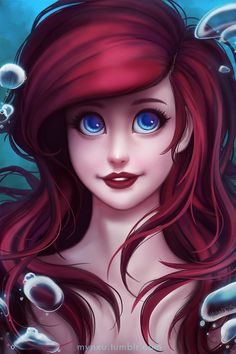'The little Mermaid' was my first Disney cartoon I watched Wanted to have her awesome hair and voice for a long time, well, and even now it would be cool Hope you like it guys^^ Follow ...