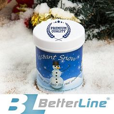 Authentic 5 LBS Pure White Snow Bond with Opalina Flakes (Iridescent) Artificial Fake Snow Flock Powder for Christmas Trees and Wreaths ...