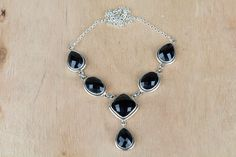 #Wholesale #Retail #Beautifully #Handmade #Faceted #Black #Onyx Gemstone #Necklace for Women,by Brillante Jewelry Made from 92.5 sterling Silver #Faceted #Black #Onyx Gemstone #Necklace. And by using Natural Gemtones..Pick this #Necklace to add new definition to your Personality.About the Brand-Associated with Glamour,style and class,Brillante–Jewelry fashion jewelry appeals to,women across all age-groups.