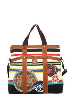 1100347340 DESIGUAL Bag SELY - 44,79€ : Fashion Monicapecado What's In Your Bag,