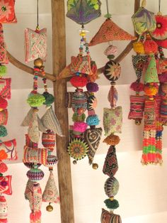 Handmade tassels from Gypsy River