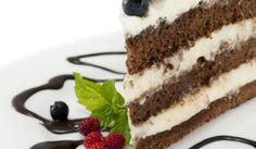 Zasnežená torta