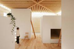 Wohnraum des Wohnhauses in Toyokawa