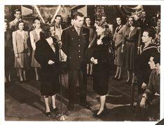 """Joan Leslie Bette Davis Robert Hutton in """"Hollywood Canteen"""" Original ..."""