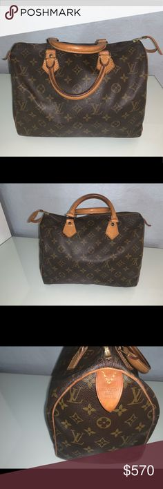 c28b48198f18 100% Authentic Louis Vuitton Speedy 30 Monogram 🌸 510 Or Best Offer🌸 🌸 Louis