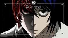 light/L death note