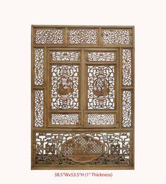 Antique Fu-lu-shou Hand Carving Window Wall Screen Panel Awk2628 Panels & Gate,http://www.amazon.com/dp/B00F9JHK28/ref=cm_sw_r_pi_dp_v2fftb14888WNY2T