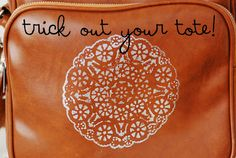 Maize Hutton: Trick Out Your Tote!