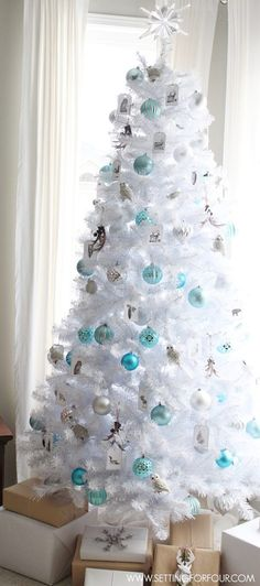 25 Non Traditional Christmas Decorating Ideas White Treeswhite