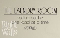 Sorting Out Life Vinyl Wall Art Decal