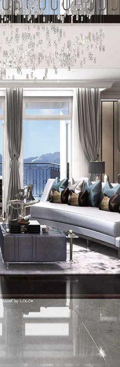 Luxury Home Design- Modern spaces - ♔LadyLuxury♔