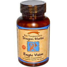 Dragon Herbs, Eagle Vision, 500 mg, 100 Veggie Caps
