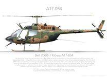 "Bell 206B-1 ""Kiowa"" A17-054 Australian Army"