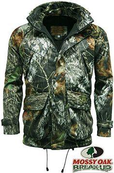 518eda55ed261 Stormkloth Herren Recon Mossy Oak Camouflage Jacke Wasserdicht, Windfest &  Atmungsaktiv Jagen Schiessen: AmazonSmile