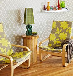 Click Pic for 50 DIY Home Decor Ideas on a Budget - Splendid Stencils to add Interest to Walls - DIY Crafts for the Home