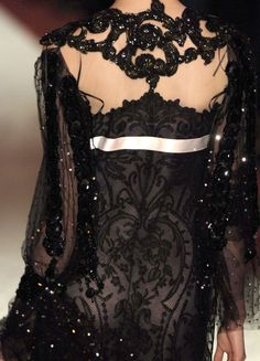 Christian Lacroix fashion in details
