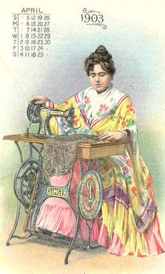 Anuncio de  Singer 1903