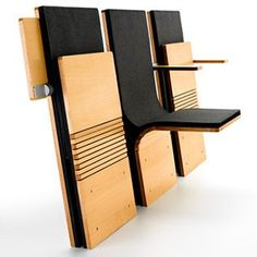 Could be neat in a Tiny House- Auditorium and Stadium Seating - Sedia Systems: