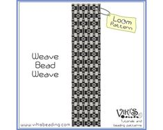 Loom Beading Pattern: Weave Bead Weave - INSTANT DOWNLOAD pdf -Discount codes are available