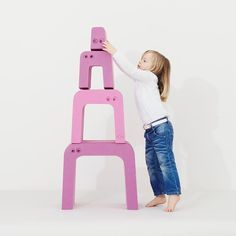Use as a balance beam, table & chairs, steps, throne, tower  http://blossomforchildren.co.uk/at-home/74-bobles-anteater.html