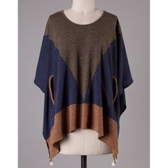 The JULIANNA dolman poncho - OLIVE ️️HP 11/26Dolman sleeves round neck cutout, side asymmetrical poncho. 96% polyester, 4% spandex.  Hoe super unique is this poncho? ‼️NO TRADE‼️ Jackets & Coats