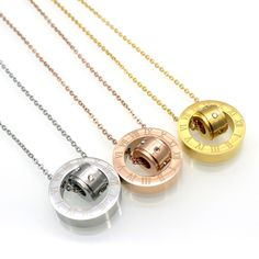 Find More Pendant Necklaces Information about New Fashion Titanium Steel Body Roman Number Chain Necklace Gold Plated Austrian Crystal Necklace Pendant Fine Jewelry for woman,High Quality jewelry slogan,China jewelry resale Suppliers, Cheap jewelry pendant necklace from JINHUI on Aliexpress.com