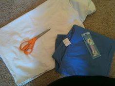 I took a few (really blurry iPhone) pics as I did it in case anyone else out there is feeling the squeeze despite the assumptio. Maternity Scrubs, Maternity Sewing, Maternity Pants, Medical Billing And Coding, Diy Scrub, Scrub Pants, Fasion, Business Women, Paper Shopping Bag