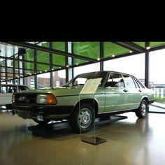 Beautiful #Audi 100, taken at the Zeithaus at Autostadt Wolfsburg.