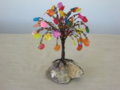 sculpture small  wire tree
