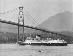 Princess of Nanaimo Canadian Pacific Railway, History Facts, British Columbia, Vancouver, Coastal, Cruise, Ships, Ocean, Steamers