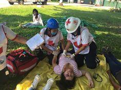 Mochila Botiquín Trauma II EMS apoyando a los Profesionales de Cruz Roja Mexicana durante simulacro.  #SoyEMS EMS Mexico | Equipando a los Profesionales