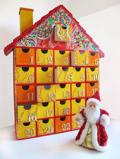 #Musical Wooden #AdventCalendar Painted by StardustKay