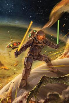 Star Wars by Jo Chen