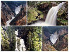 The Waterfalls of Yellowstone National Park (Images and Map)