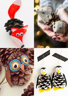 48 Amazing DIY Pine Cone Crafts & Decorations