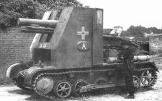 15cm sIG33 auf pzkpfw 1 ausf B. 38 were converted from pzkpfw 1 several were stil in service in mid 1943 with the schwere 704th infanteriegeshutz abteilung of the 5th Panzer Div in Russia