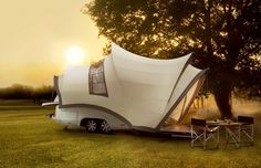 Enjoy The Great Outdoors In This Camper Inspired By The Sydney Opera House