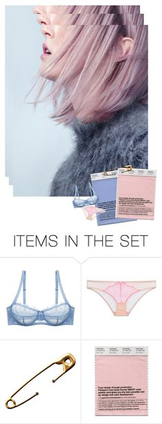 """""""rose quartz & serenity"""" by uncharged-batteries ❤ liked on Polyvore featuring art"""