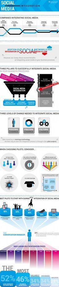 Social Media Integration #infographic #SocialMedia