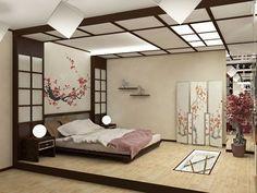 Delightful Japanische Schlafzimmer Dekoration