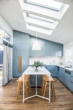Amazing kitchen in this modern Australian beach house