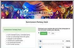 Invocateurs Fantaisie Hack Générateur en ligne Ios, Hacks, Fantasy, Fishing Line, Tips