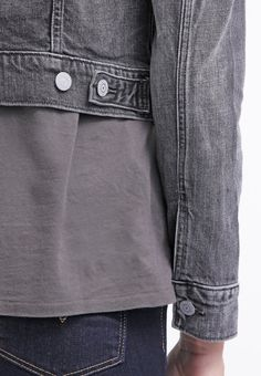 Levi's® AUTHENTIC TRUCKER - Denim jacket - moon tide - Zalando.co.uk