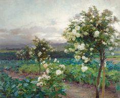 Artworks of Olga Wisinger-Florian (Austrian, 1844 - Impressionist Paintings, Landscape Paintings, Decoupage, Museum, Artist Biography, Mountain Paintings, Gustav Klimt, Art Auction, Flower Power