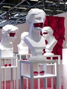 """SILMO,Paris,France, """"Gentle Monster Eyewear Booth at the Silo Optical Fair Paris"""", pinned by Ton van der Veer"""