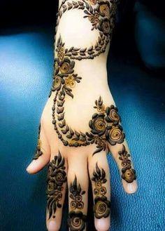Anushka Mehendi, Panjim, Goa, Mehendi, The Wedding Brigade Dulhan Mehndi Designs, Mehandi Designs, Arabic Bridal Mehndi Designs, Khafif Mehndi Design, Stylish Mehndi Designs, Mehndi Design Pictures, Beautiful Henna Designs, Latest Mehndi Designs, Tattoo Designs